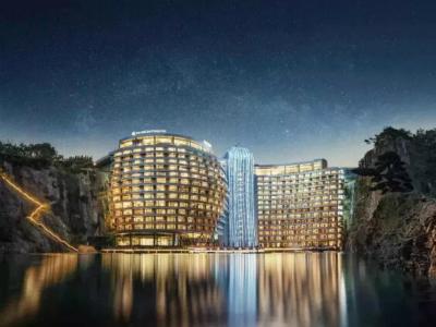 上海佘山世茂深坑洲際酒店
