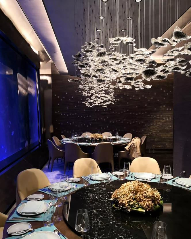 深坑酒店水下餐廳