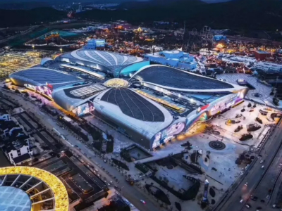 Over 40 billion investment! On the first day of opening, the passenger flow of Wuxi Rongchuang Cultural Tourism City was as high as 30W +. I heard that you want to check in every place here!