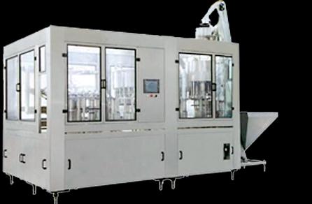 沖洗、灌裝、旋蓋三聯機(熱灌裝)BL-CGXR