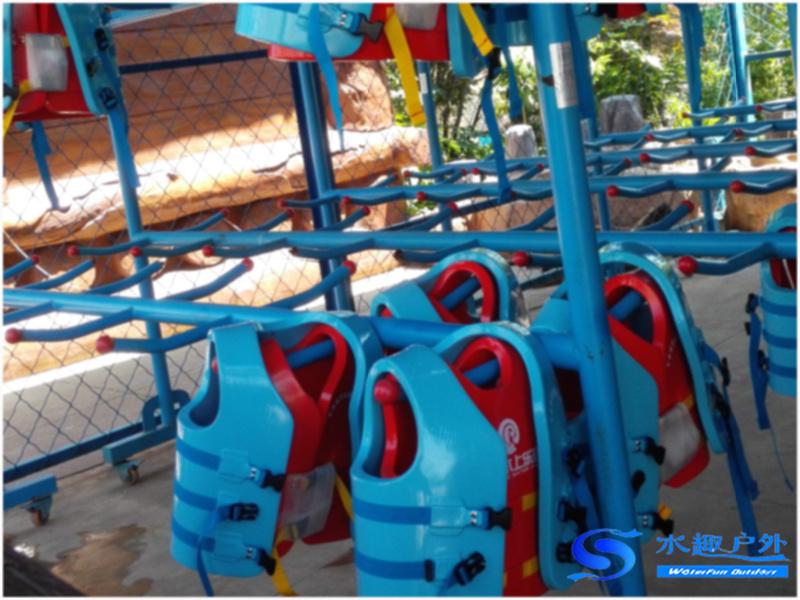 舒浮救生衣大量被游客使用