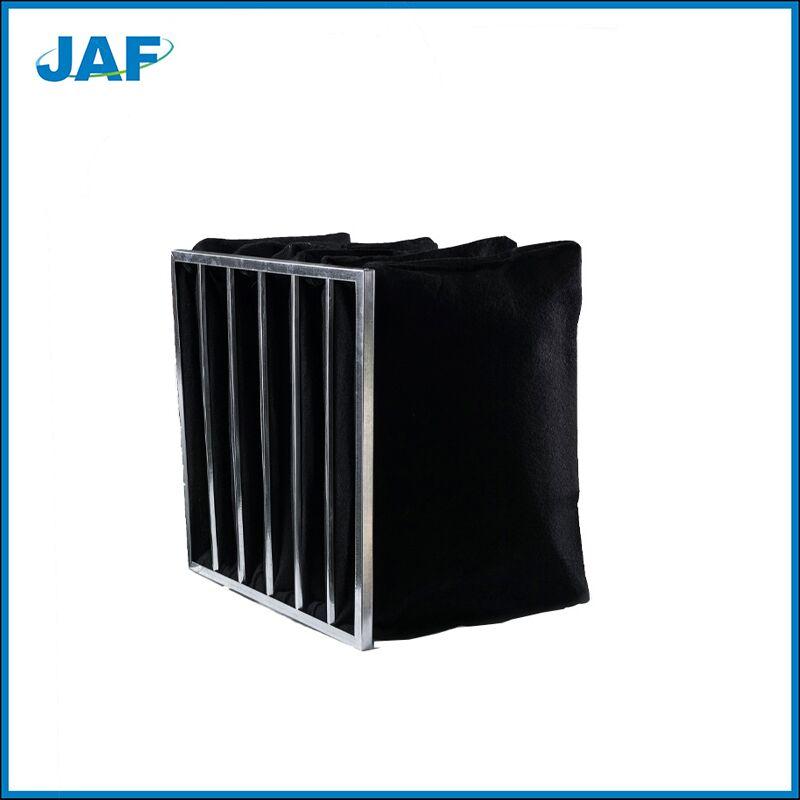 镀锌框活性炭袋式过滤器