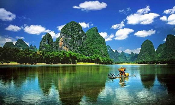 旅游桂林拍的风景照