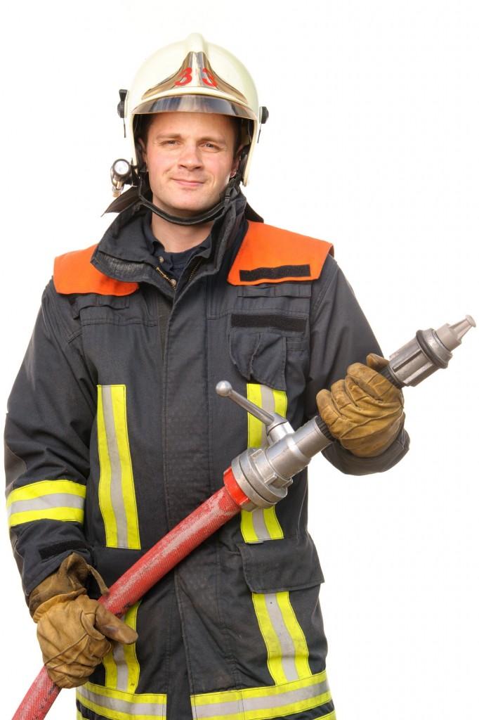 消防员与消费水