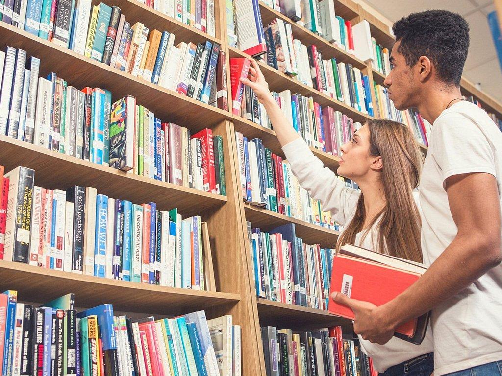 图书馆图书