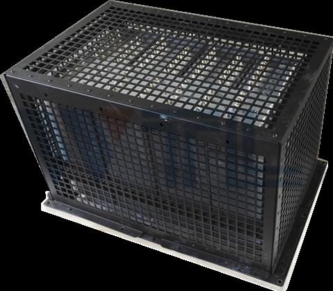 地铁车辆牵引控制装置VVVF逆变器用热管散热器、SIV辅助电源装置用热管散热器
