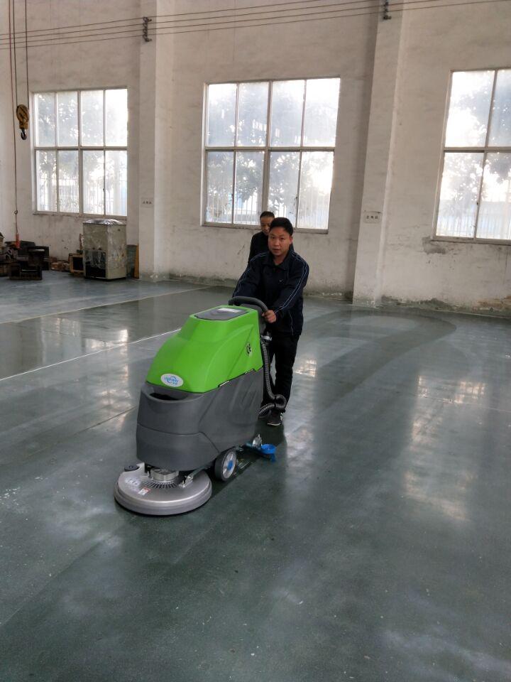 电子厂用全自动洗地机