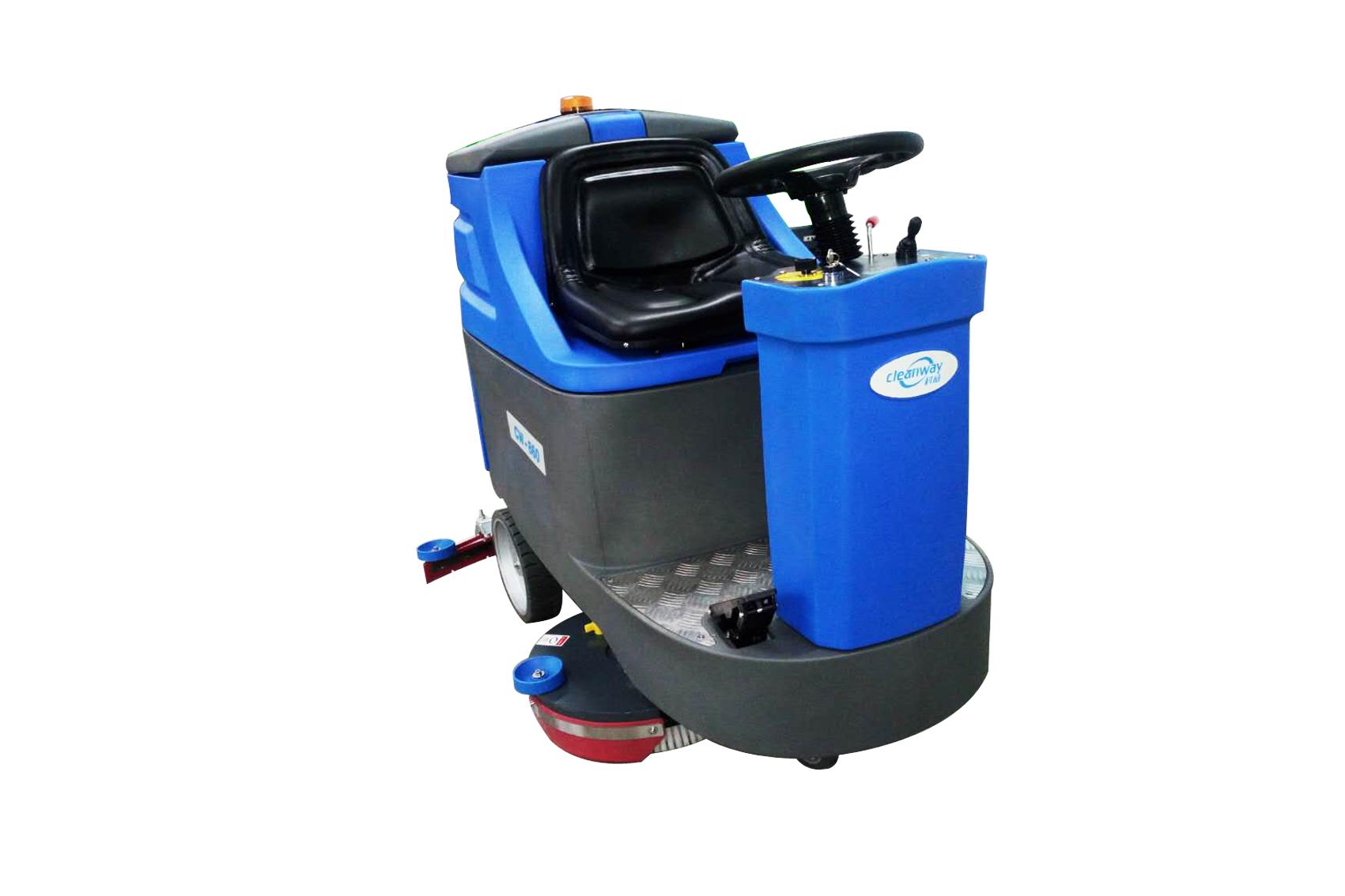 CW-860B驾驶式洗地机