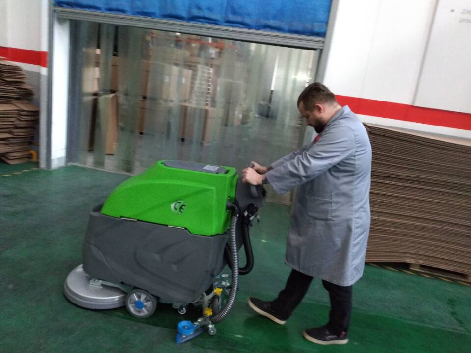 手推式洗地机——机电城仓库的佳选