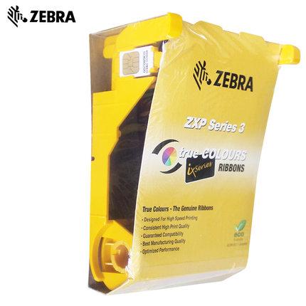 ZEBRA斑马 ZXP3C证卡打印机彩色色带专用色带碳带