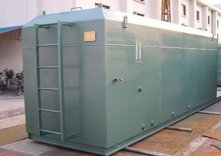 廂式一體化污水處理設備