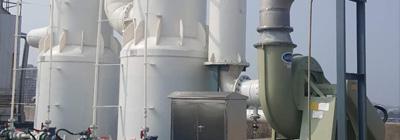 山东精密化工盐酸气体吸取安装