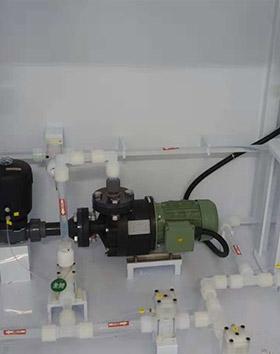 化学品配料集中供液柜