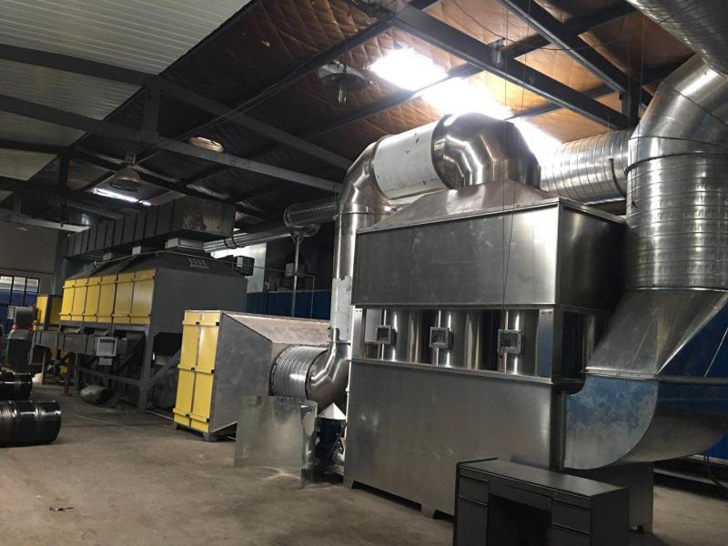 中山联跃在家具行业提供的voc废气治理技术方案