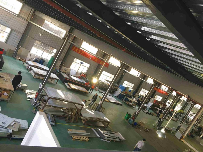联跃通风设备在石材厂提供专业的粉尘处理设备厂家方案