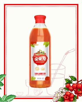 1L发酵山楂醋饮料