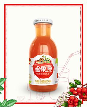 260mL发酵山楂醋饮料