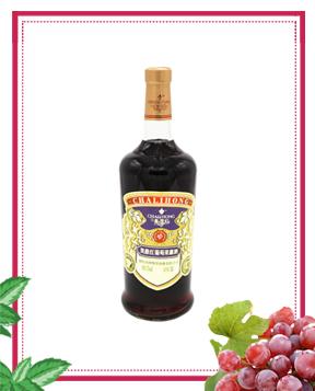 1L凯撒红葡萄果露酒