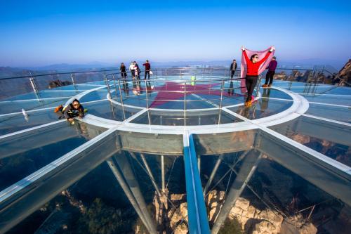 玻璃觀景台