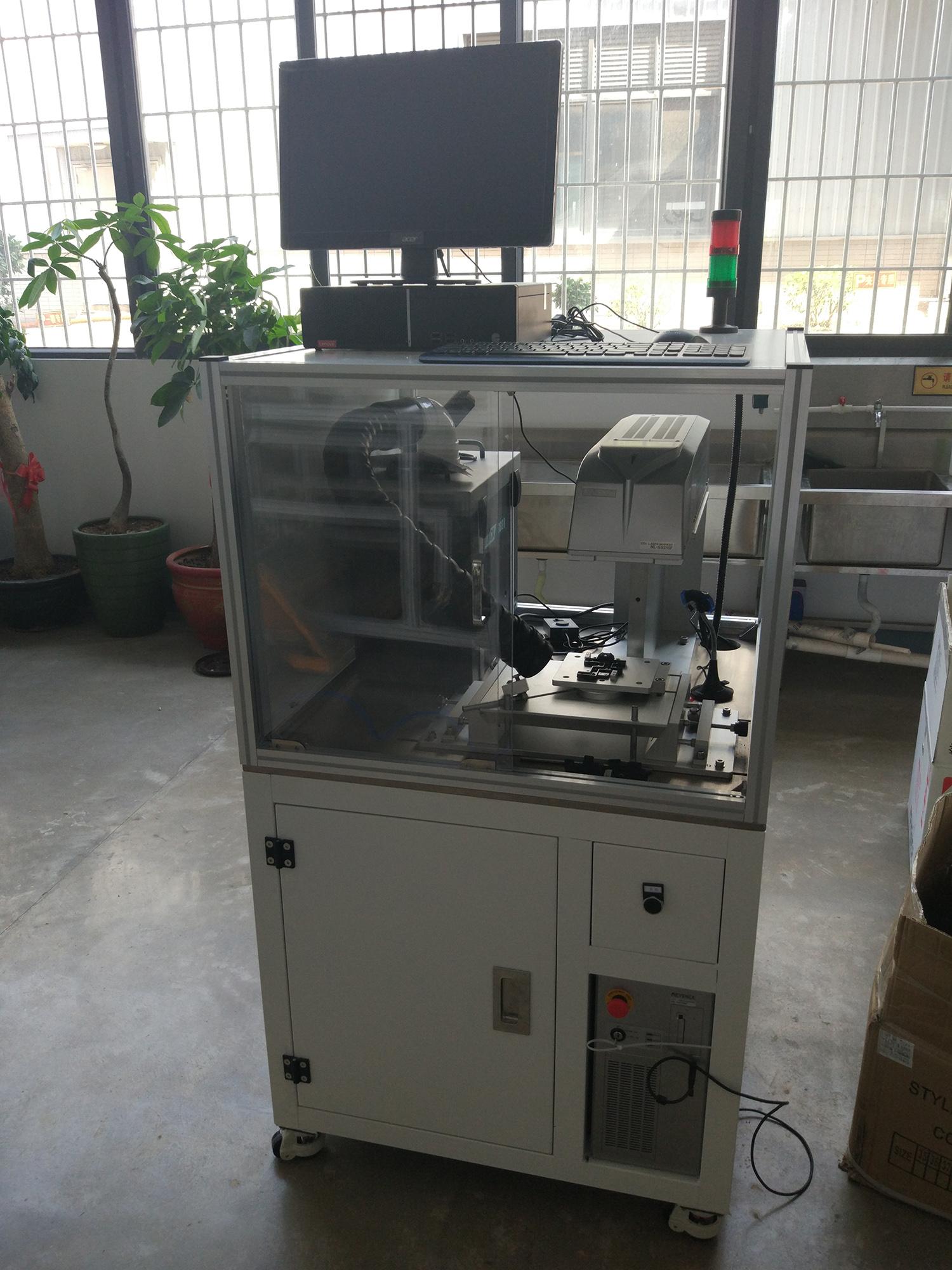 真空点胶激光刻印机