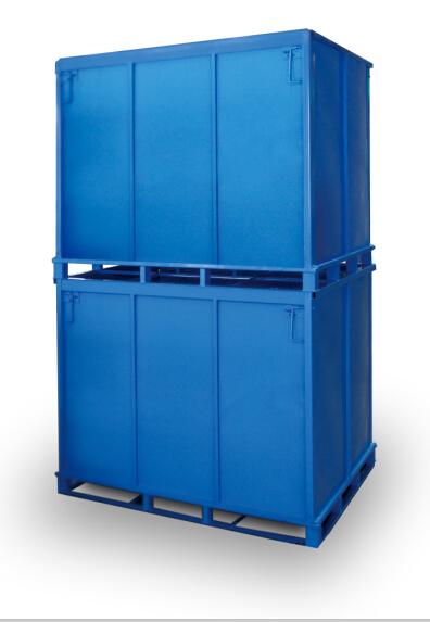 喷粉铁制包装箱