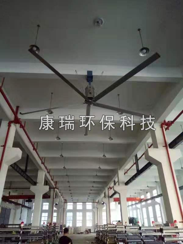 工业风扇案例