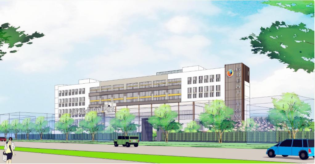 上海赛特工业园修缮项目