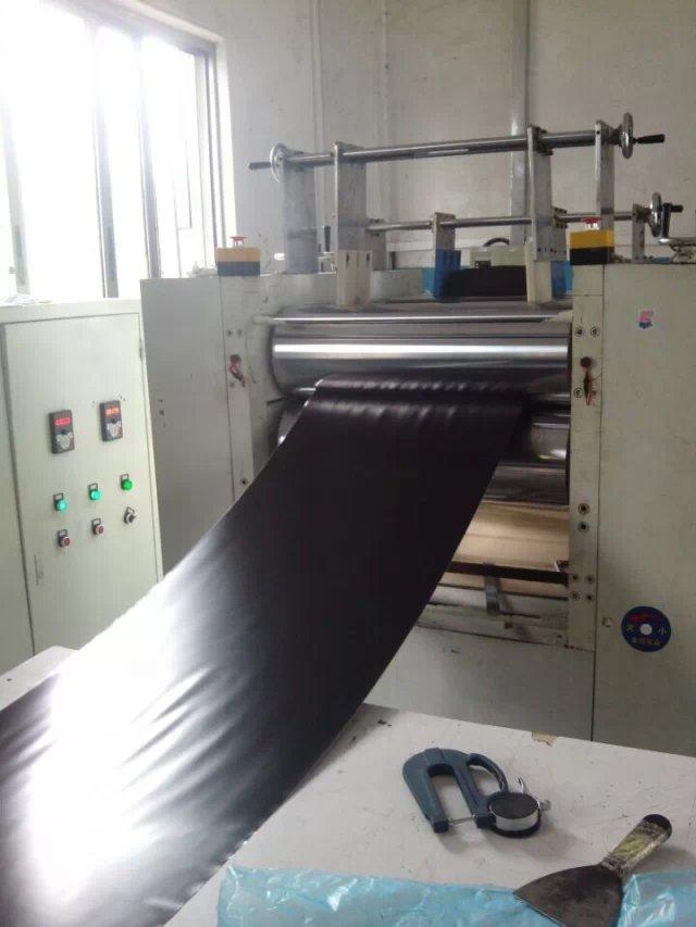 黑色磨砂硅胶卷材