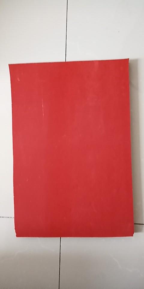 红色硅胶发泡