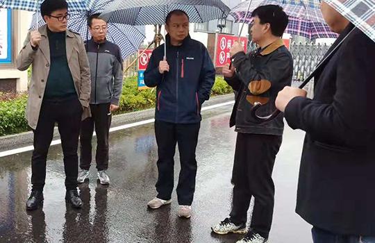 ● 常德市常务副市长陈恢清视察澧县Aggame化工有限公司