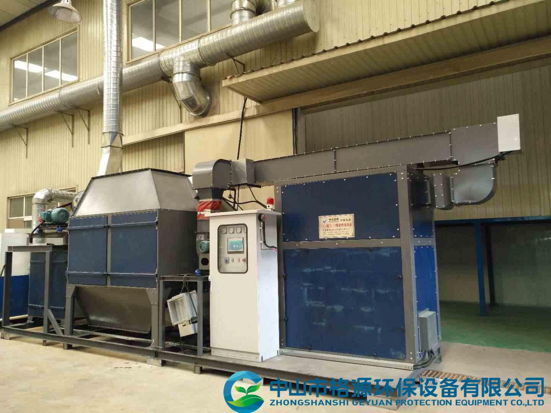 郑州中石化15000风量喷涂废气活性炭吸脱附催化燃烧一体机设备安装调试完成运行中