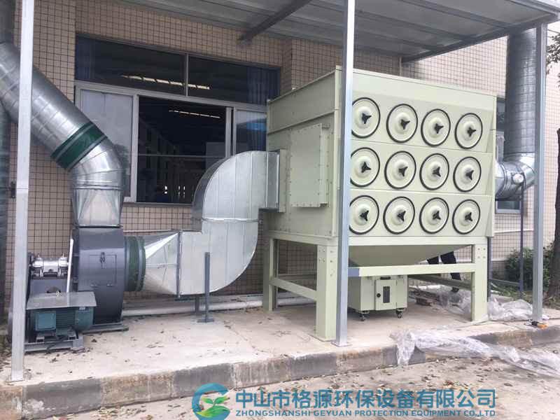 脉冲式除尘器工程案例