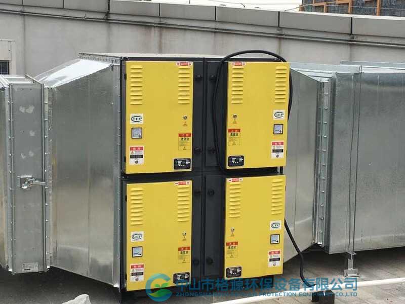 中铁诺德商业中心-商用油烟净化器