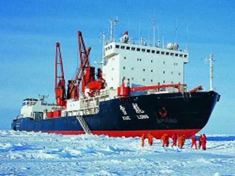 雪龍號極地考察   船用電梯