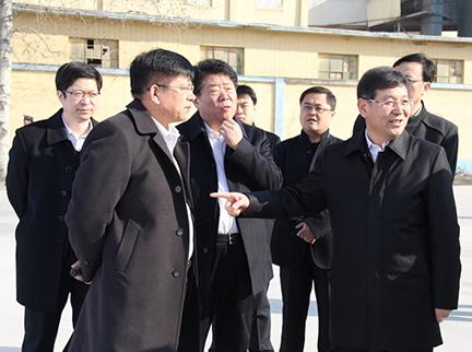 淄博市委书记周连华参观