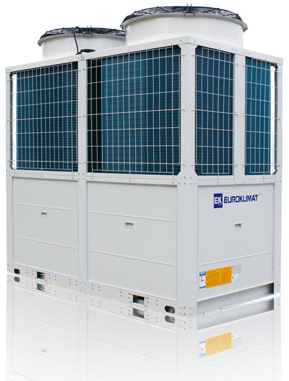 环保制冷剂型模块式风冷热泵机组