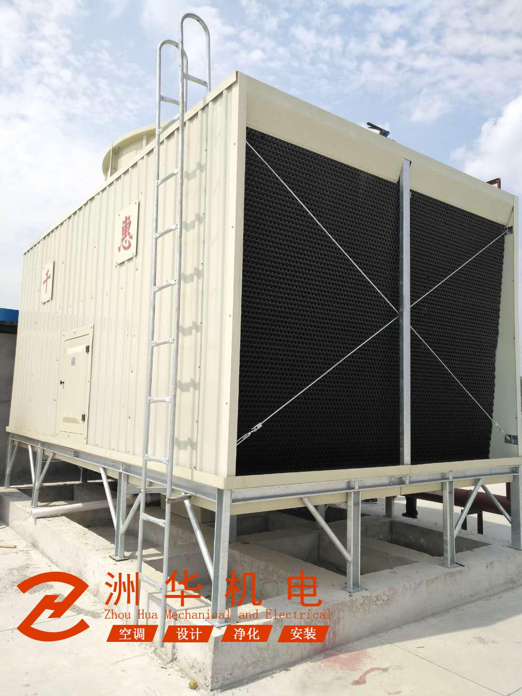 中央空调螺杆机组、水系统安装工程-东莞塘厦工厂车间
