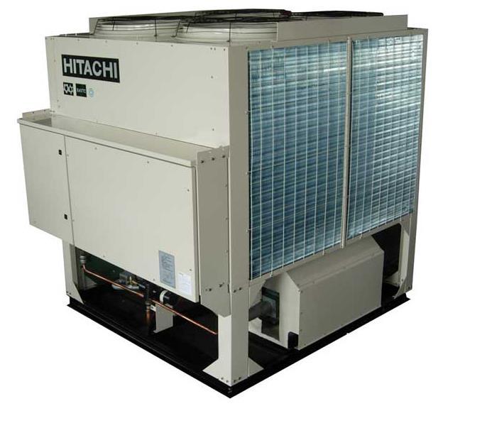 日立-风冷螺杆式高效冷水(热泵)机组ASZ系列