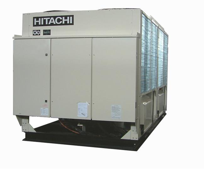 日立-风冷螺杆式全年制热机组H系列