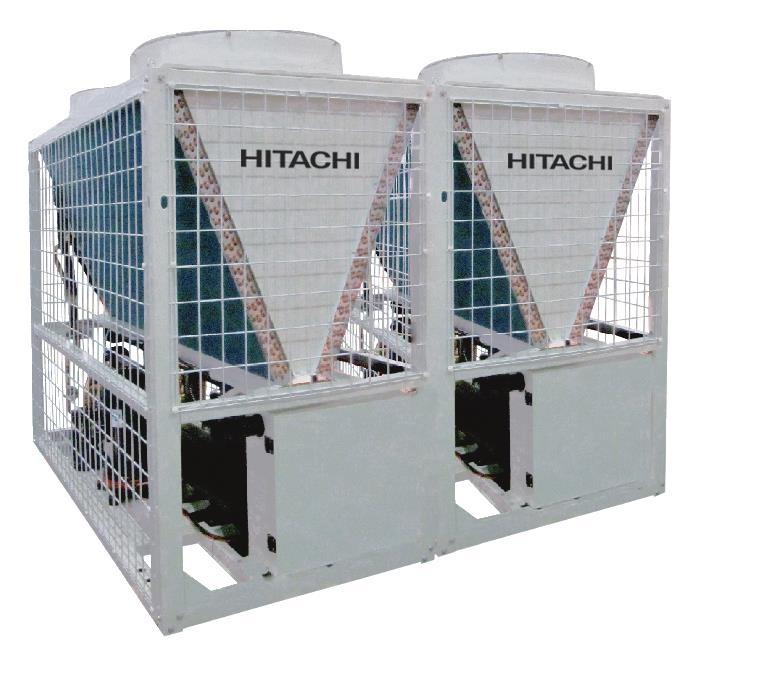 日立-风冷模块机组D系列