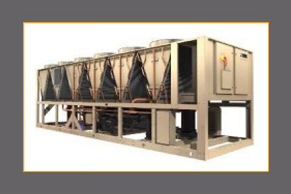约克变频螺杆式风冷冷水机组