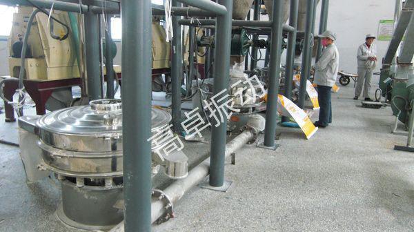山东化工厂大型圆形振动筛
