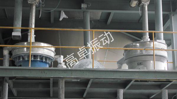 河北胶粉用振动筛使用现场
