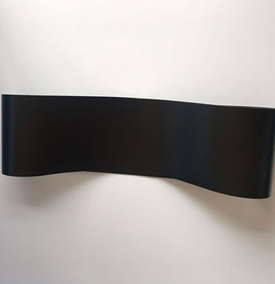 黑色亚光电子检测无接缝输送带