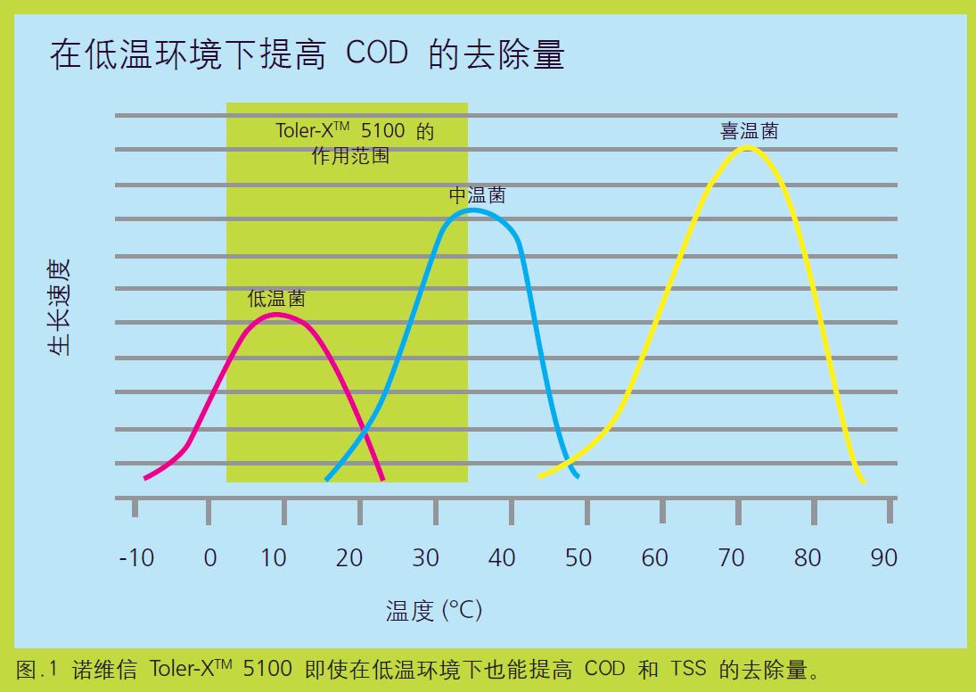 低温COD去除效率高