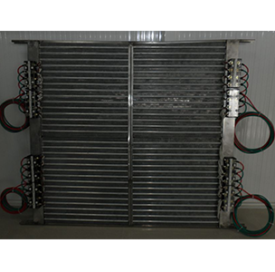 Dry insulation heater