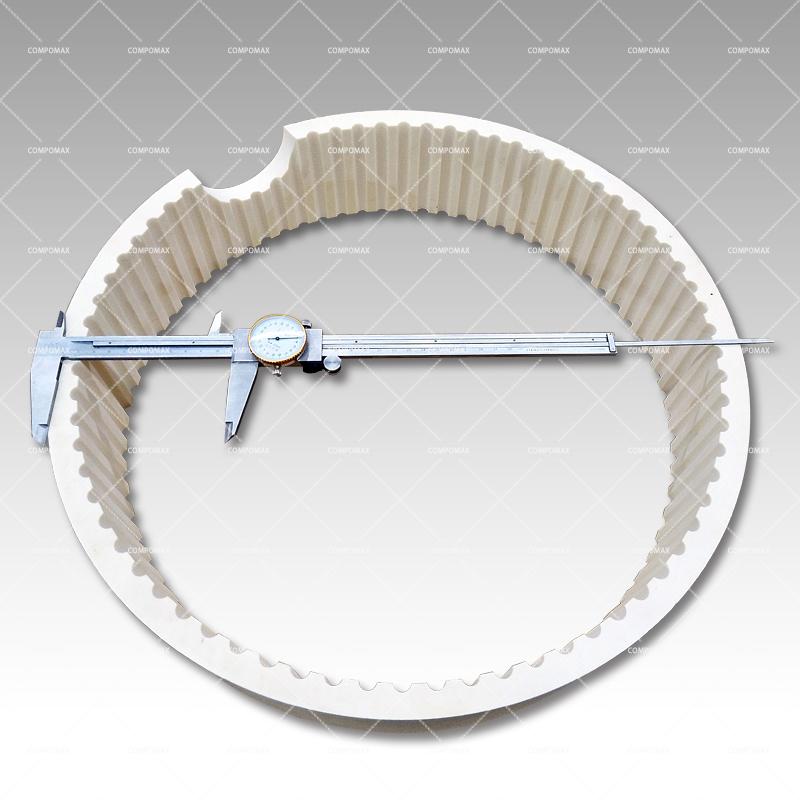 氧化铝陶瓷齿圈