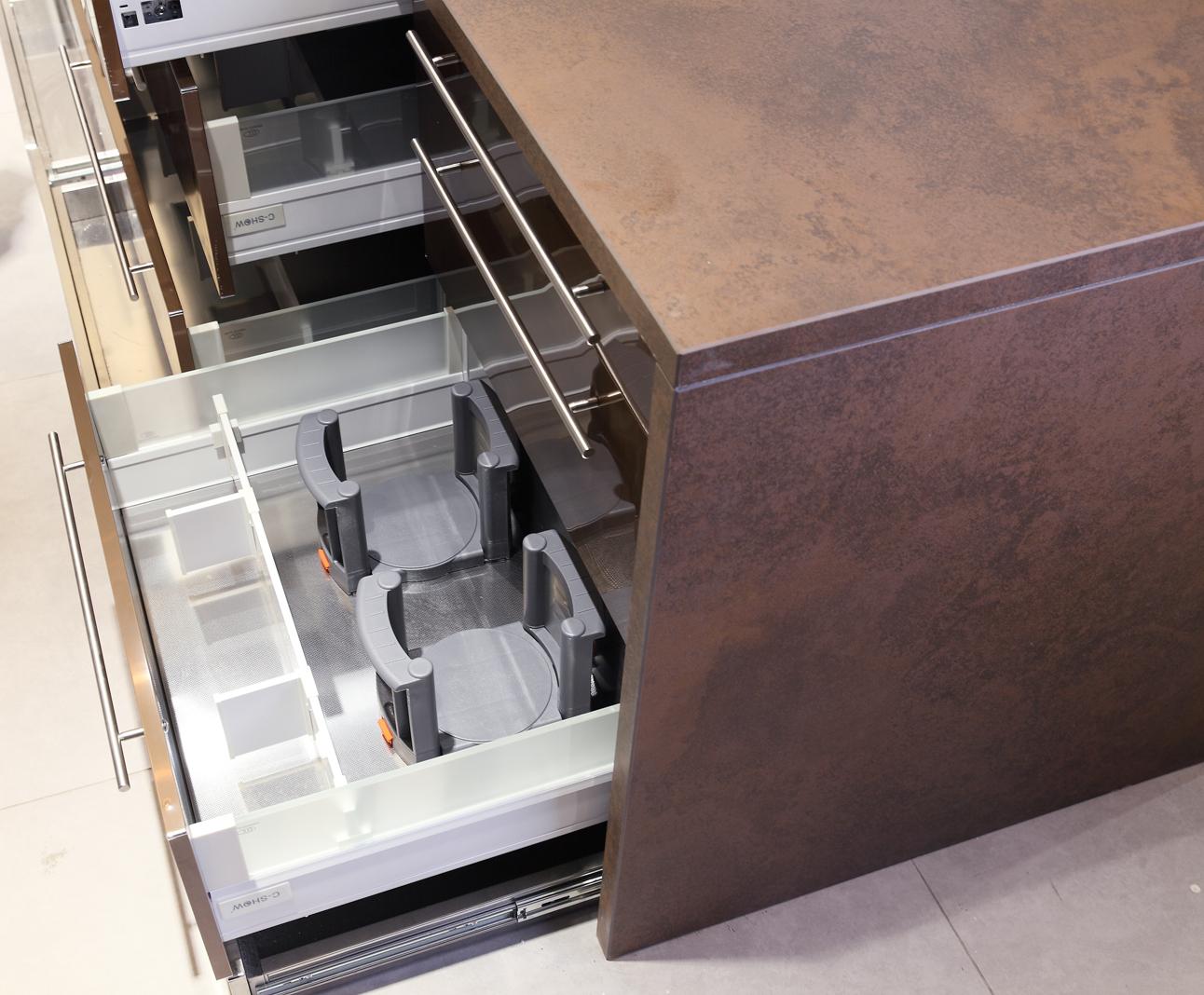 简约经典系列不锈钢橱柜定制