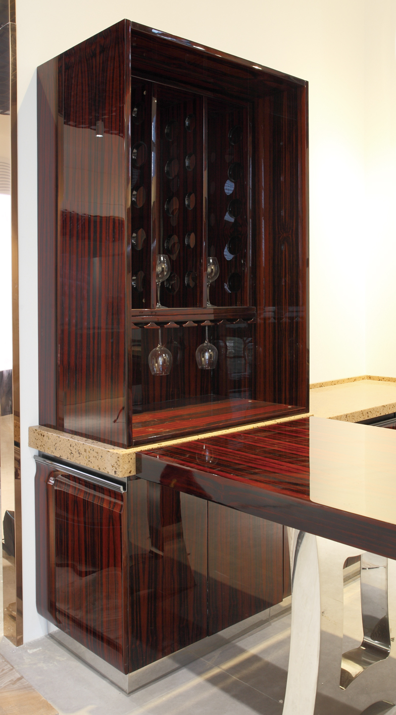 罗曼蒂克系列不锈钢橱柜定制