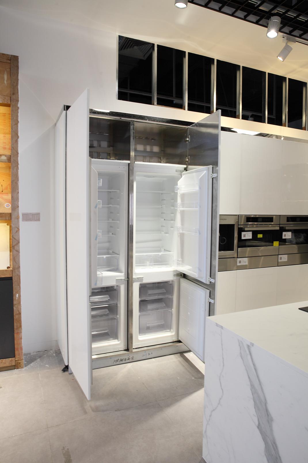 清新温暖系列不锈钢橱柜定制